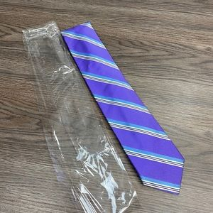 Robert Talbott Best of Class NWT Purple Stripe Tie